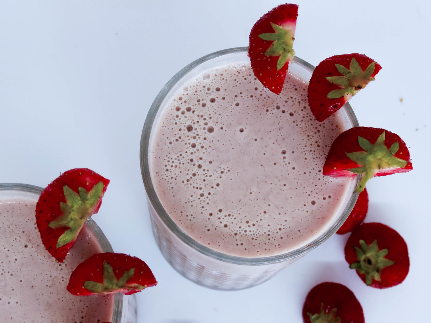 Strawberry and Cream Smoothie