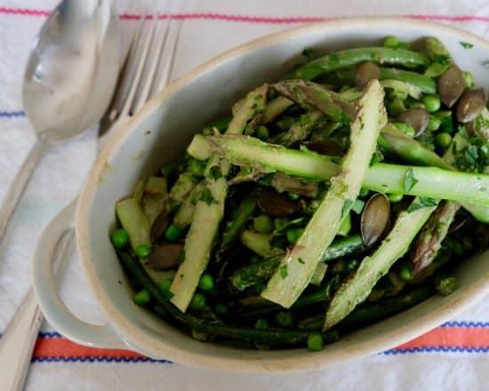 Very Green Veggie Stir-Fry