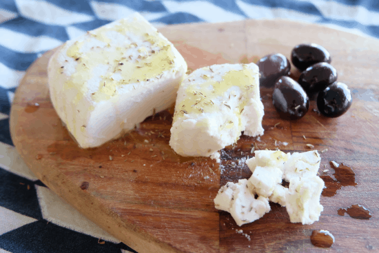 Vegan Almond Feta
