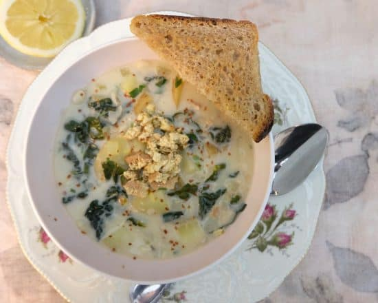 Italian Lemony Soup