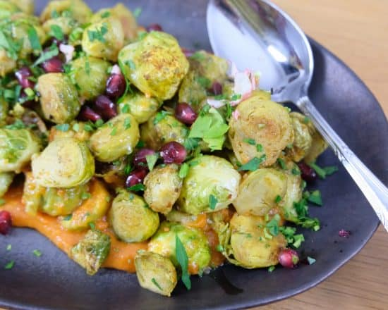 Harissa Brussel Sprouts