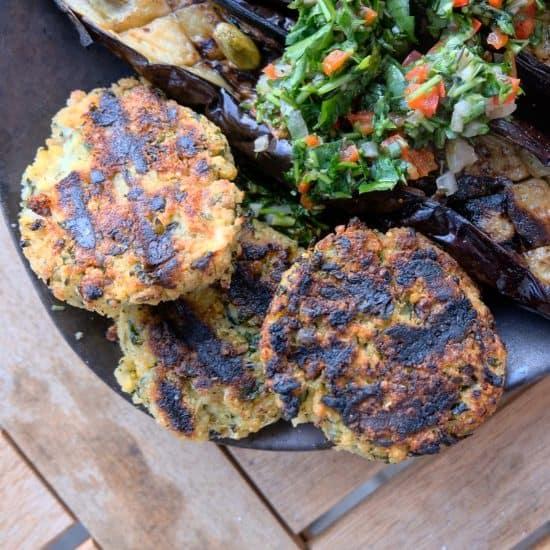 Summer Patties – Millet, Feta and Zuchinni
