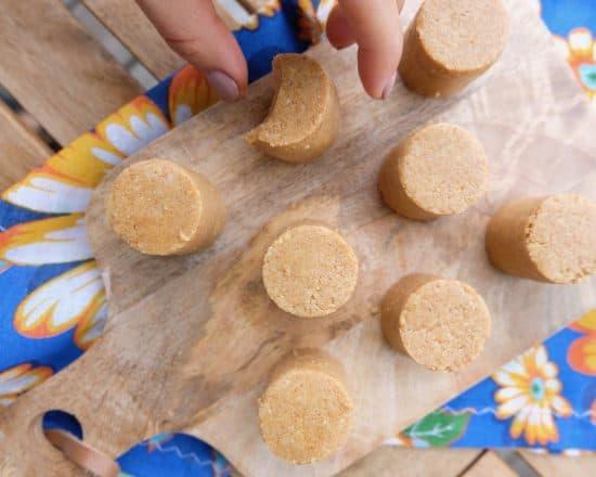 Paçoca – Raw Peanut Cookies