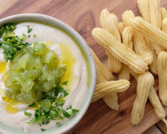 Ajo Blanco Dip & Savoury Churros